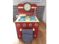 Le toy van mini oven and hob