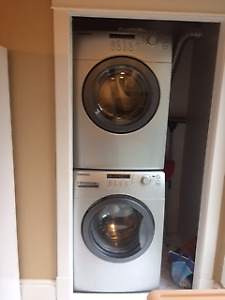 Samsung Stainless Steel Front Load Washer & Dryer
