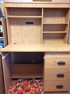 Desk and Shelf Cambridge Kitchener Area image 1