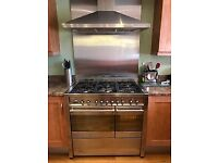 SMEG A2 Range Cooker and Extractor Hood