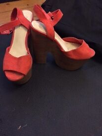 Various ladies size 5 shoes and boots