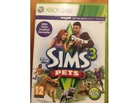 The Sims 3 Pets Xbox 360 game