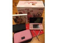 Nintendo 3DS console + game