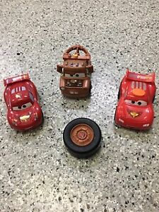 Cars Car, Mader and Lightening MacQueen cars