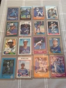 Autographed Blue Jays Cards from Spring Training