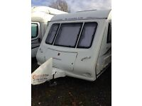 6 Berth Compass Rambler 20/6 2007 Twin Axle with Motormover, Full Awning And Annexes, Good Condition