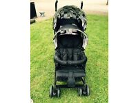 Double Buggy suitable from newborn!