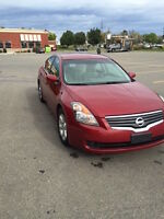 2008 Nissan Altima 2.5L Sedan, new brakes and battery
