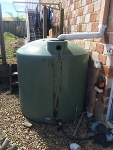 Rainwater tank & pump Oxenford Gold Coast North Preview