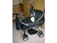 Silver Cross Linear Freeway Full Travel System in Black
