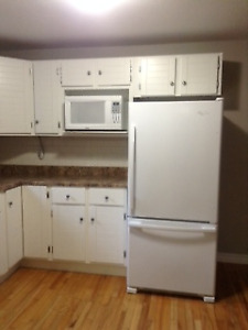 One bedroom apartment available October 1, 2018