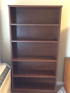 Solid Wood Oak Bookshelf