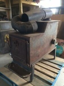 "Wood Stove with blower for 30"" Logs"