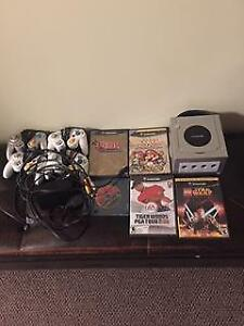 GameCube with 5 Games & 4 controllers