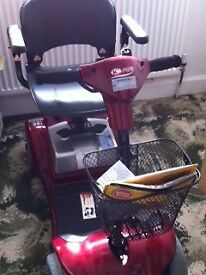 Kymco Red 4 wheel Scooter - Good as NEW - IMMACULATE condition.