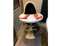 Used Bloom Highchair with new straps