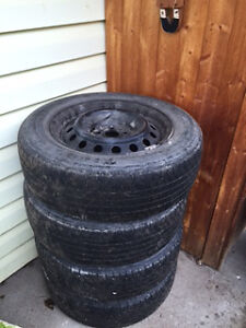 set of summer tires 195/65R15