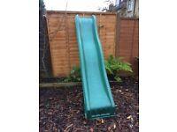 Garden slide 7ft climbing frame