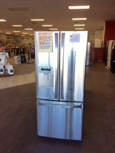 """CLEARANCE 30"""" french door fridge at Sears in Brandon"""