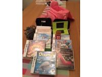 Nintendo DS Lite - 2 consoles and 8 Games - Immaculate Condition. Limited Edition