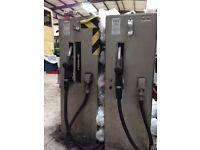 2 x 2nd hand Pumptronics Fuel Pumps & Fuel Spill tray