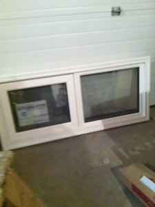 new  and used  PVC windows