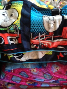 thomas blanket and snug fleece