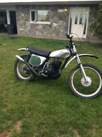 1974 honda CR 250M is in very nice original condition