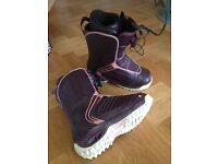 Ladies K2 Snowboard Boots UK size 5.5