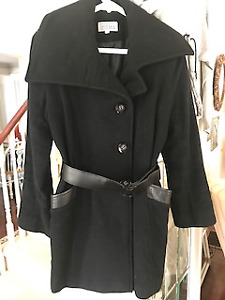 Women's Wool and Cashmere Coat