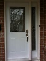 Front Entry Door and SideLight