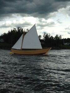 2011 Lunenburg Fortune Bay Dory & Trailer
