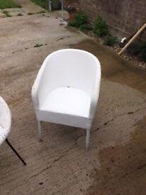 Lloyd loom type chair