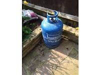 Blue 15kg gas bottle