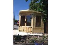 8x8 Corner Summer House