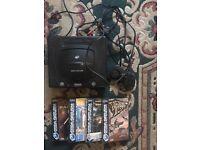 Sega saturn 4 games good condition