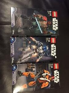 Star Wars buildable figures - brand new in box - only 2 left Aubin Grove Cockburn Area Preview