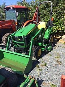 2013 John Deer 23HP Tractor