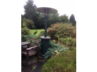 Deluxe Patio Heater & Gas Barbecue cost new over £250