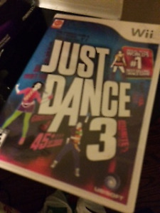 Wii just dance 3 game new