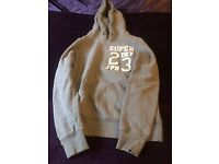 Superdry Grey Hoodie Size Small