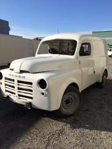 Looking for Dodge pick up or Panel chassis. 49 to 53