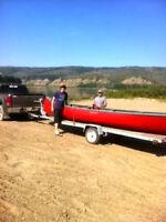20 ft Chestnut Freighter Canoe