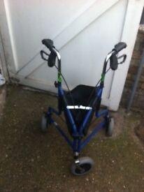 Zimmer three wheels walker