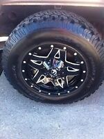Fuel Off-road Wheels, Tires with TPMS