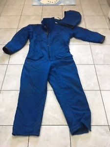 Nomex winter coveralls, size large