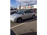 honda civic in good runnig condition lether seats
