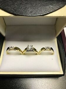 3 Piece Ring Set for Sale (Price Reduced!)