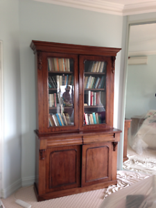 Bookcase Antique Vaucluse Eastern Suburbs Preview