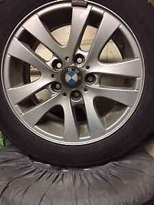 Winter Tires with BMW Rims